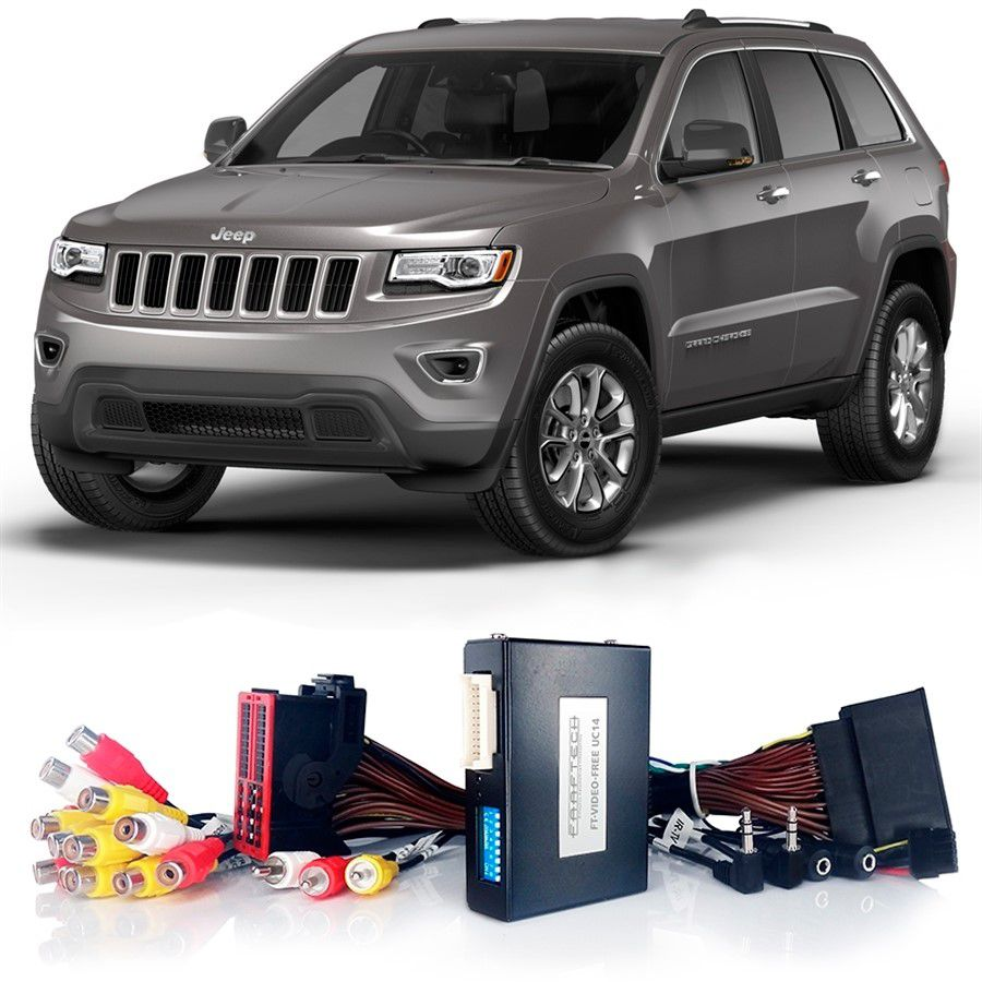 Desbloqueio De Multimídia Jeep Grand Cherokee 2014 a 2018 FT VF UC14