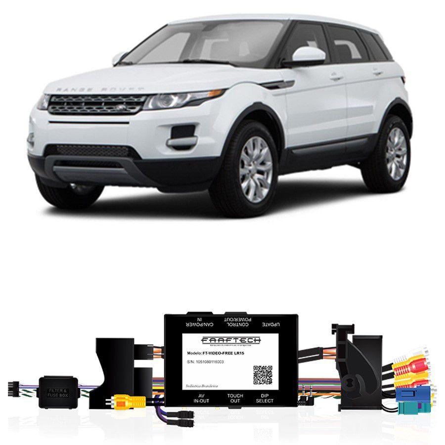 Desbloqueio De Multimidia Land Rover Discovery Sport 2015 a 2016 FT VF LR15