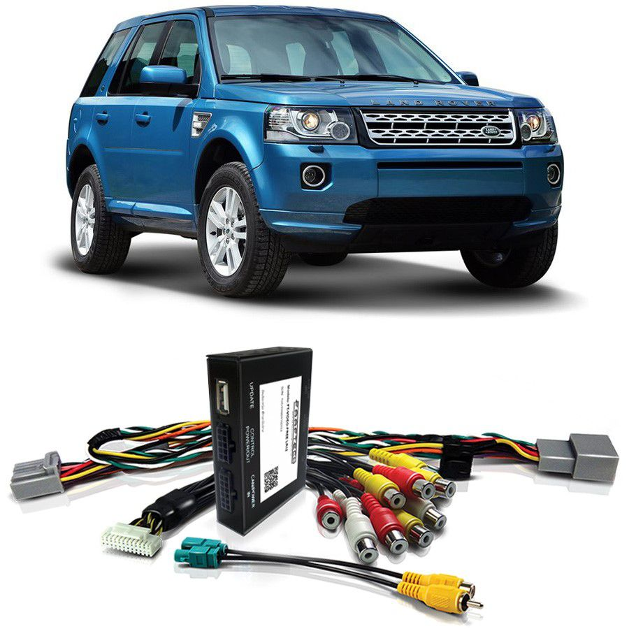 Desbloqueio De Multimidia Land Rover Freelander 2 2013 a 2015 FT VF LR12