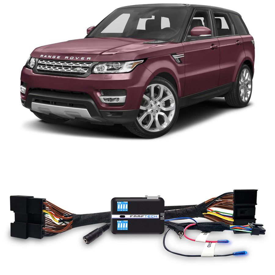 Desbloqueio De Multimidia Land Rover Range Rover Sport 2017 a 2018 FT VF LR3