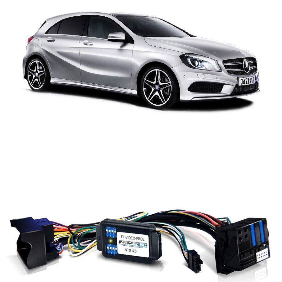 Desbloqueio De Multimidia Mercedes Classe A 2012 a 2015 Com DVD FT VF NTG4.5