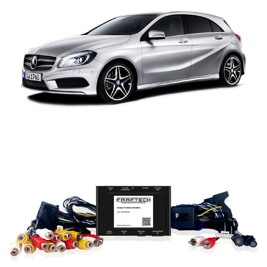 Desbloqueio De Multimidia Mercedes Classe A 2012 a 2015 Sem DVD FT LVDS MB12