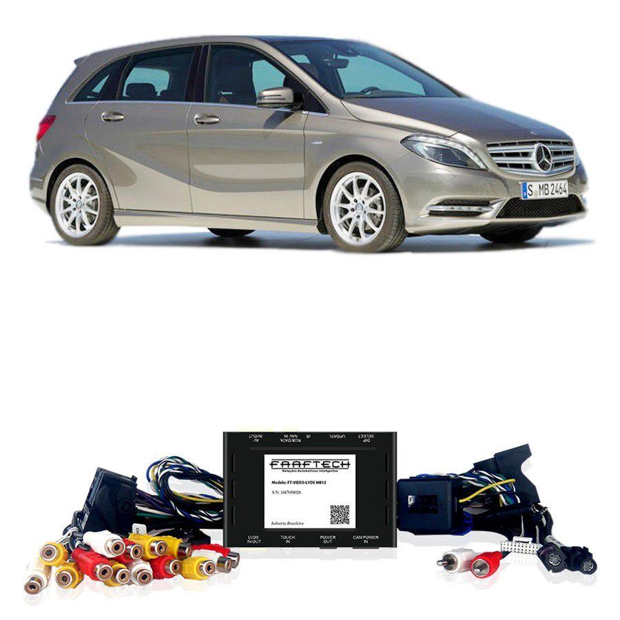 Desbloqueio De Multimidia Mercedes Classe B 2012 a 2014 Sem DVD FT LVDS MB12