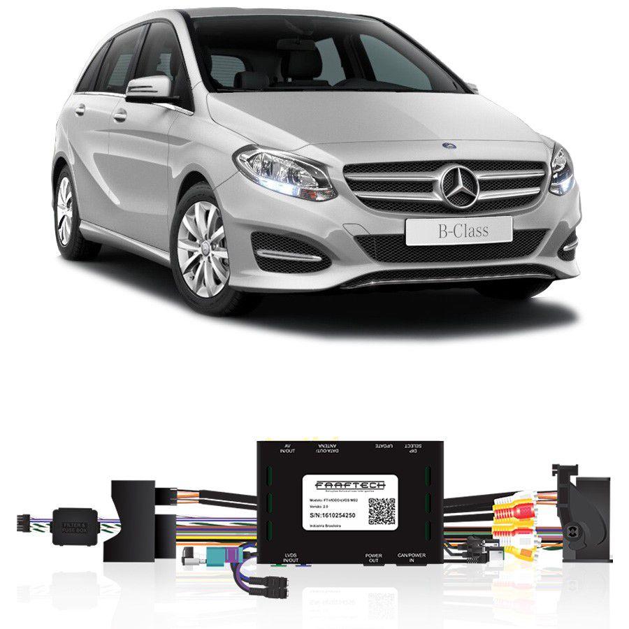Desbloqueio De Multimidia Mercedes Classe B 2015 Com NTG 5 FT LVDS MB2