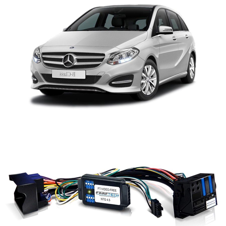 Desbloqueio De Multimidia Mercedes Classe B 2015 NTG 4.5 Com DVD FT VF NTG4.5