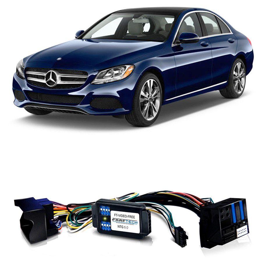 Desbloqueio De Multimidia Mercedes Classe C 2015 a 2018 Com DVD FT VF NTG 5.0
