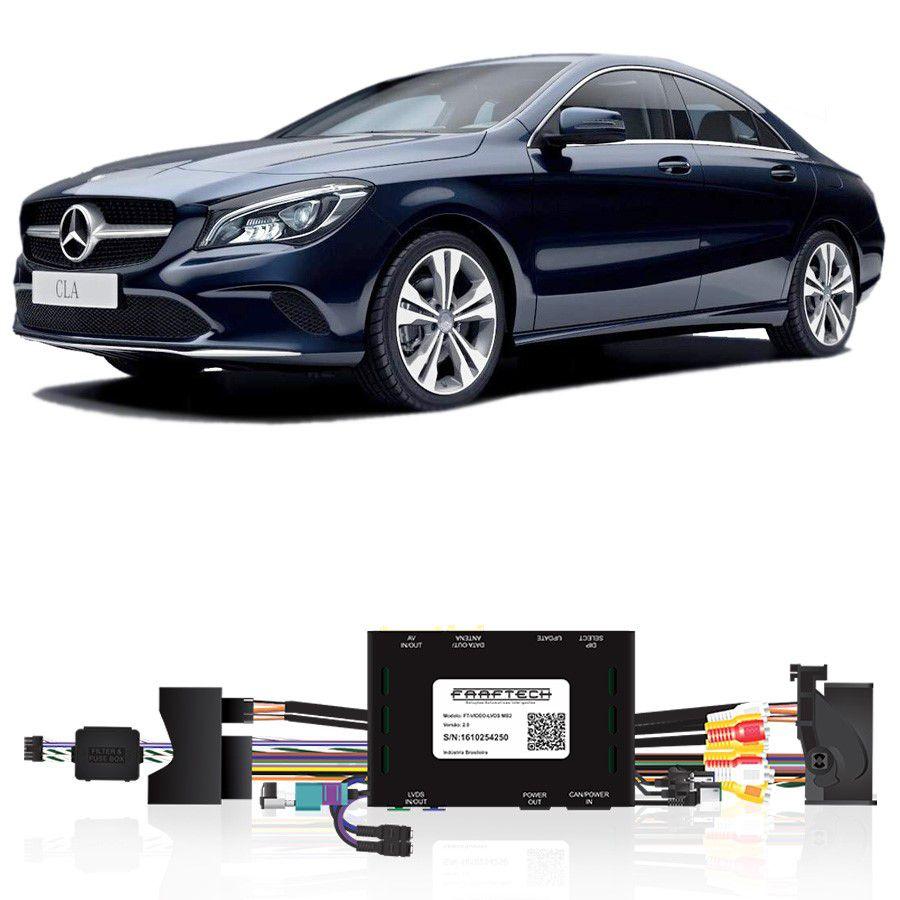 Desbloqueio De Multimidia Mercedes Classe CLA 2016 a 2018 FT LVDS MB2
