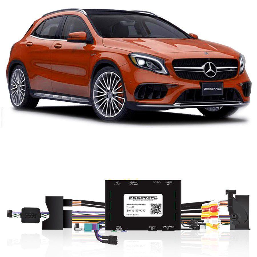 Desbloqueio De Multimidia Mercedes Classe GLA 2016 a 2018 FT LVDS MB2