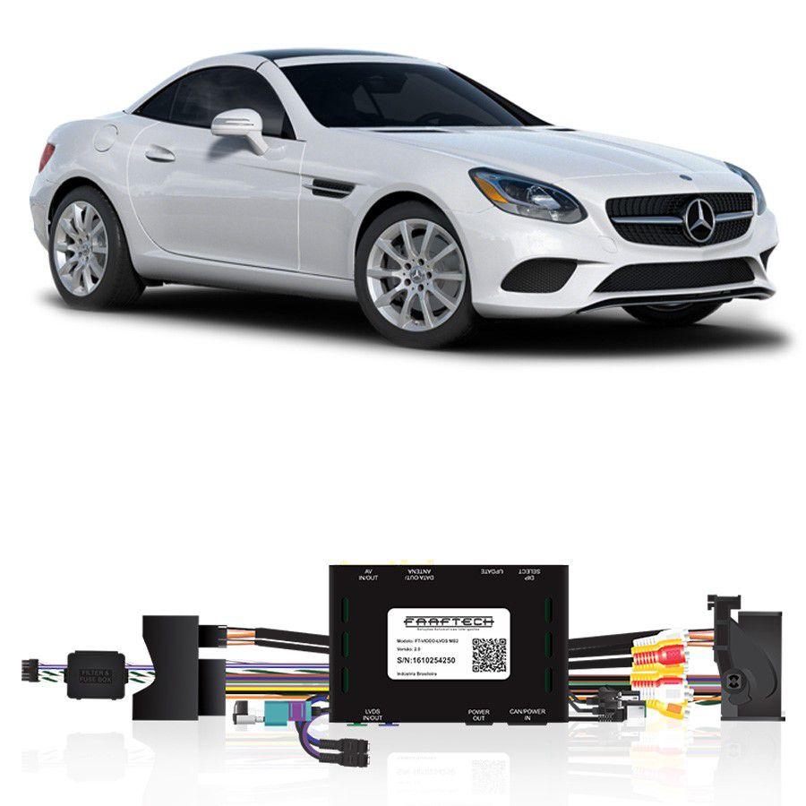 Desbloqueio De Multimidia Mercedes Classe SLC 2017 FT LVDS MB2