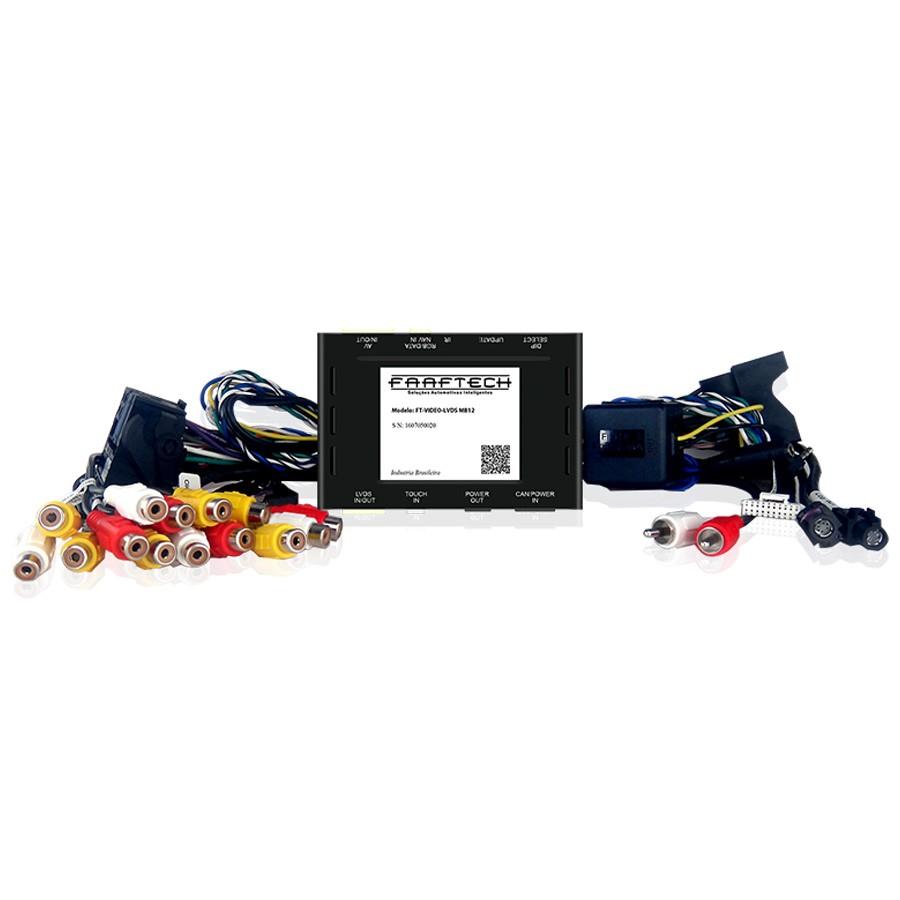 Desbloqueio De Multimidia Mercedes Faaftech FT-LVDS-MB12
