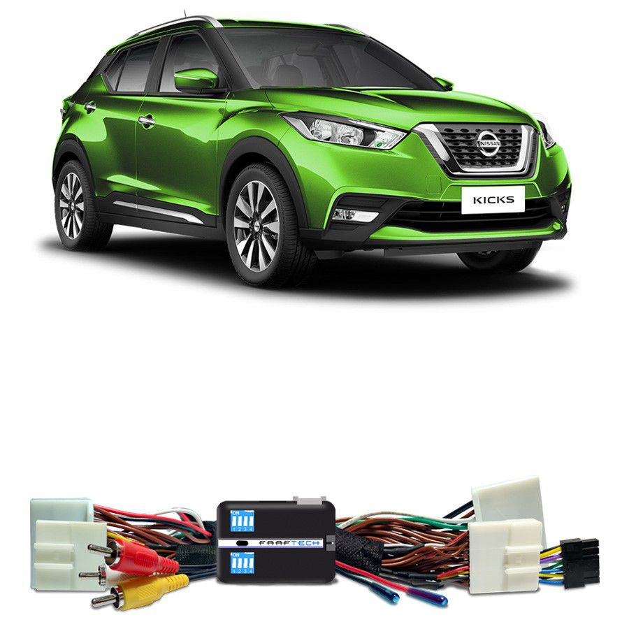 Desbloqueio De Multimidia Nissan Kicks SV 2017 a 2018 FT VF NS4