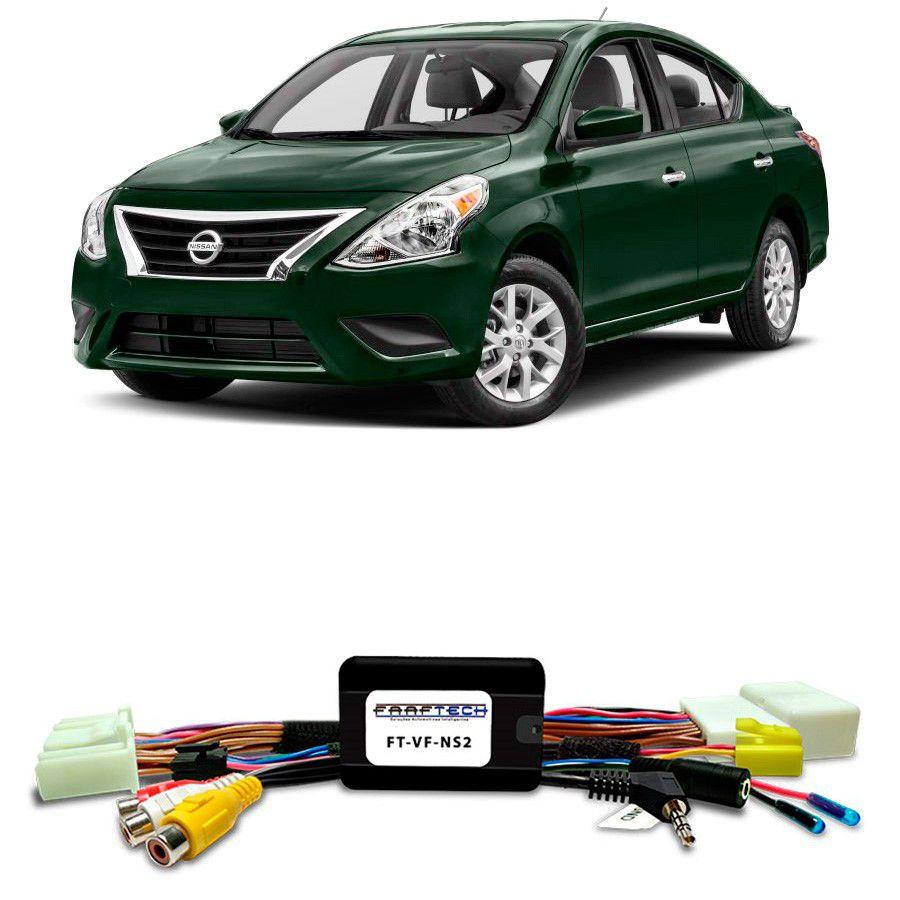 Desbloqueio De Multimidia Nissan Versa 2017 Com Multimídia Mult App FT VF NS2