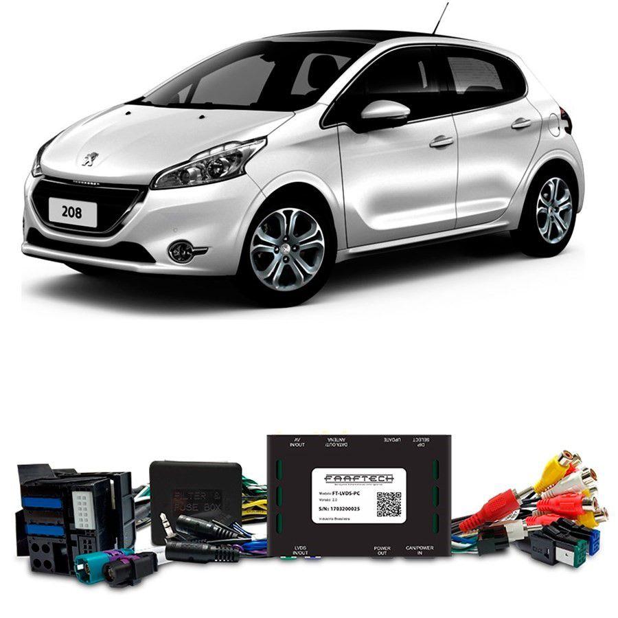 Desbloqueio De Multimidia Peugeot 208 2014 a 2017 FT LVDS PC