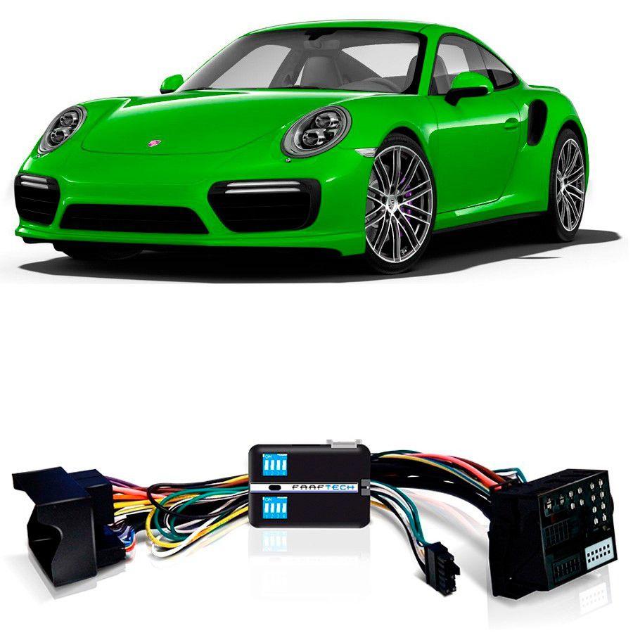 Desbloqueio De Multimídia Porsche 911 2017 a 2018 Com PCM 4.0 FT VF MIB
