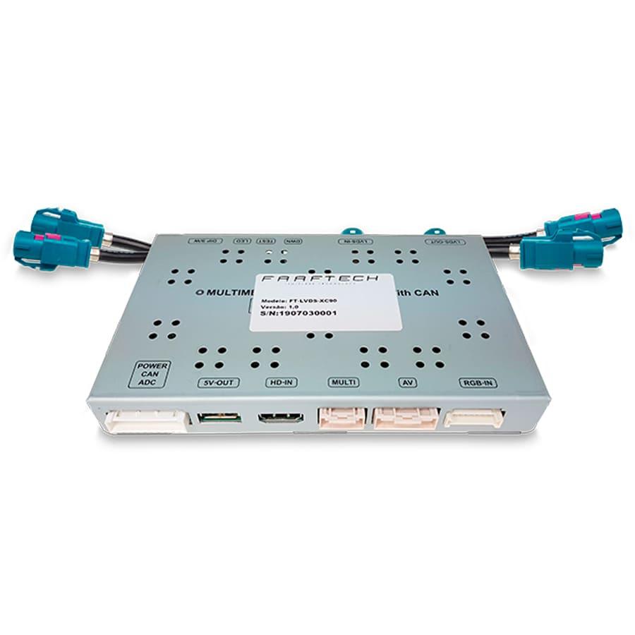 Desbloqueio De Multimidia Volvo Faaftech FT-LVDS-XC90
