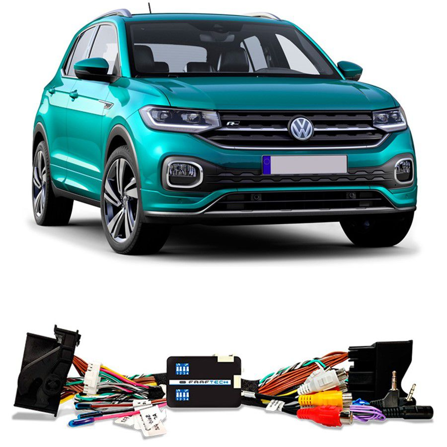 Desbloqueio De Multimidia VW T-Cross 2019 a 2020 FT VF VW4