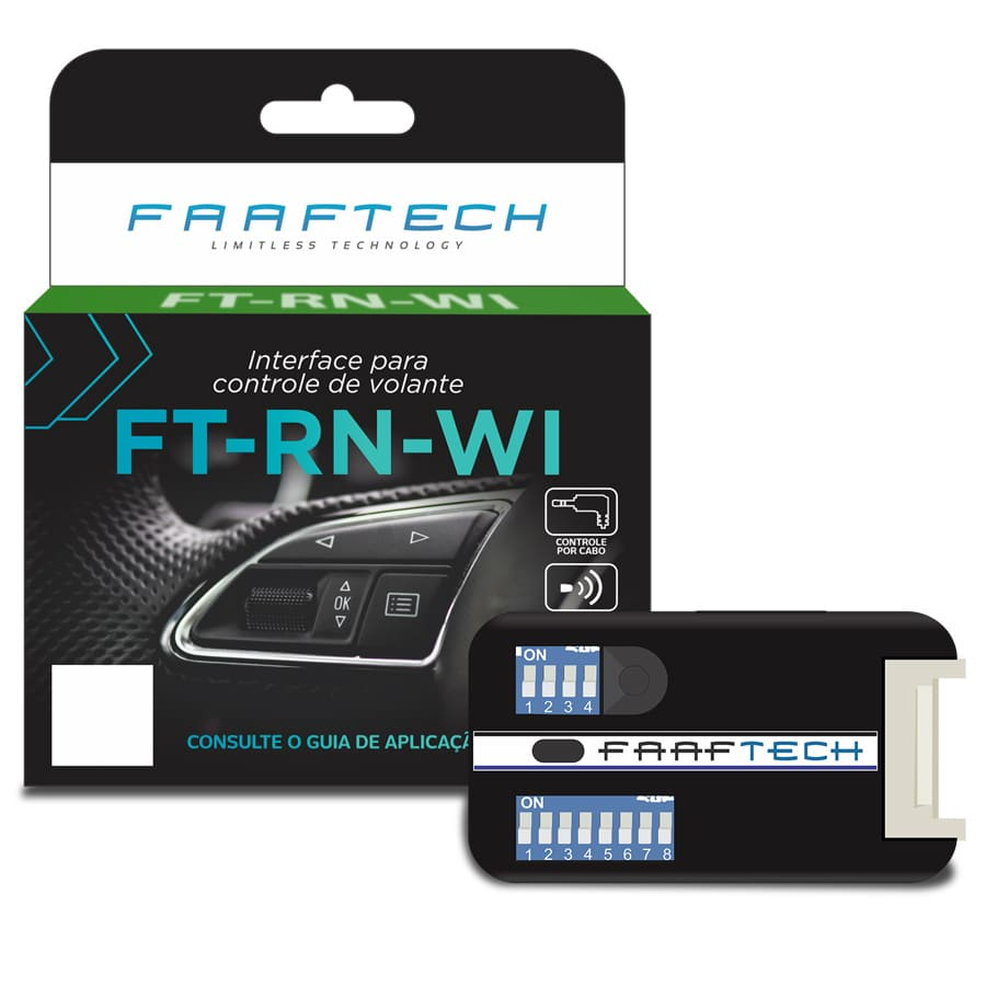 Interface De Volante Faaftech FT-RN-WI