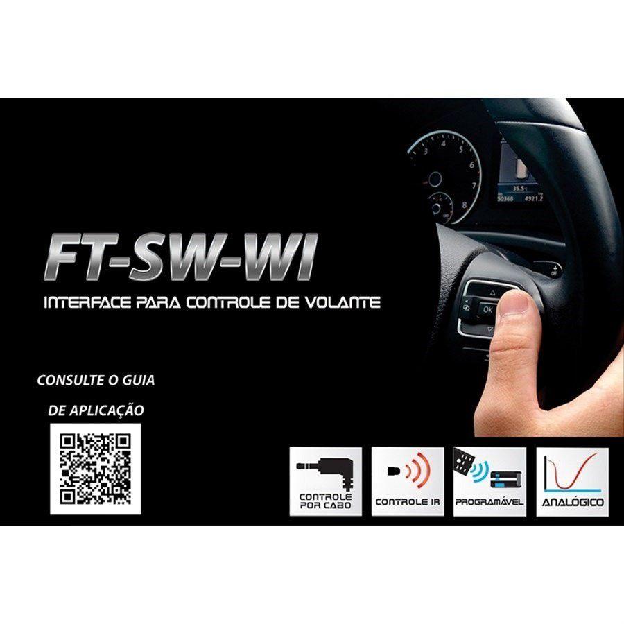Interface De Volante FT SW WI Fiat Palio Weekend 2014 a 2016