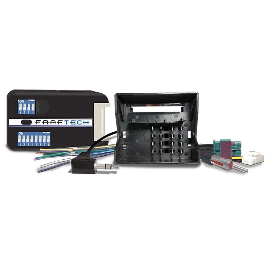 Interface de Volante Plug and Play FT SW VW Linha VW