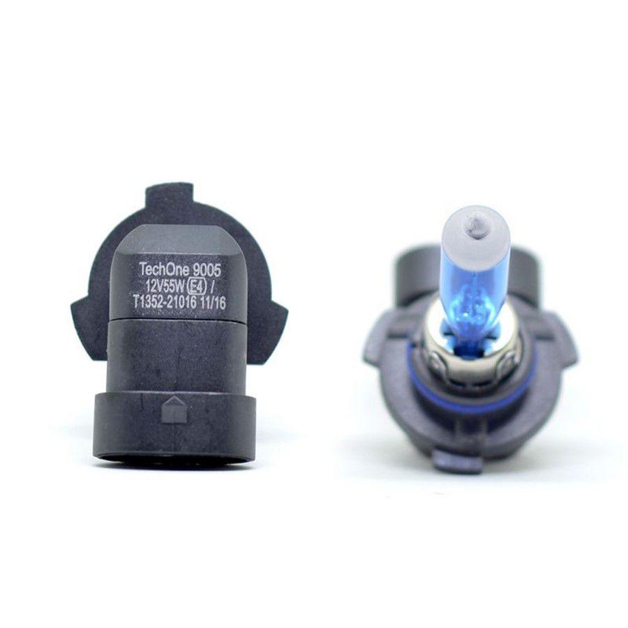 Lâmpada Super Branca HB3 9005 6000K TechOne
