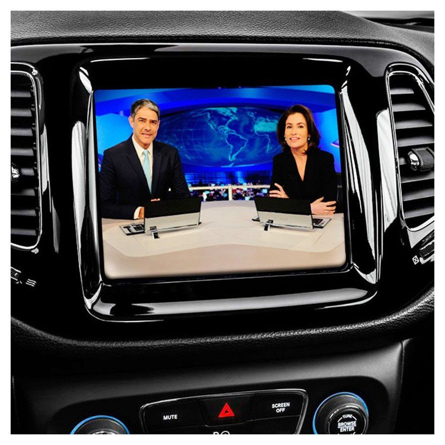 Receptor de TV Digital Automotivo Faaftech FT TV 1SEG IV