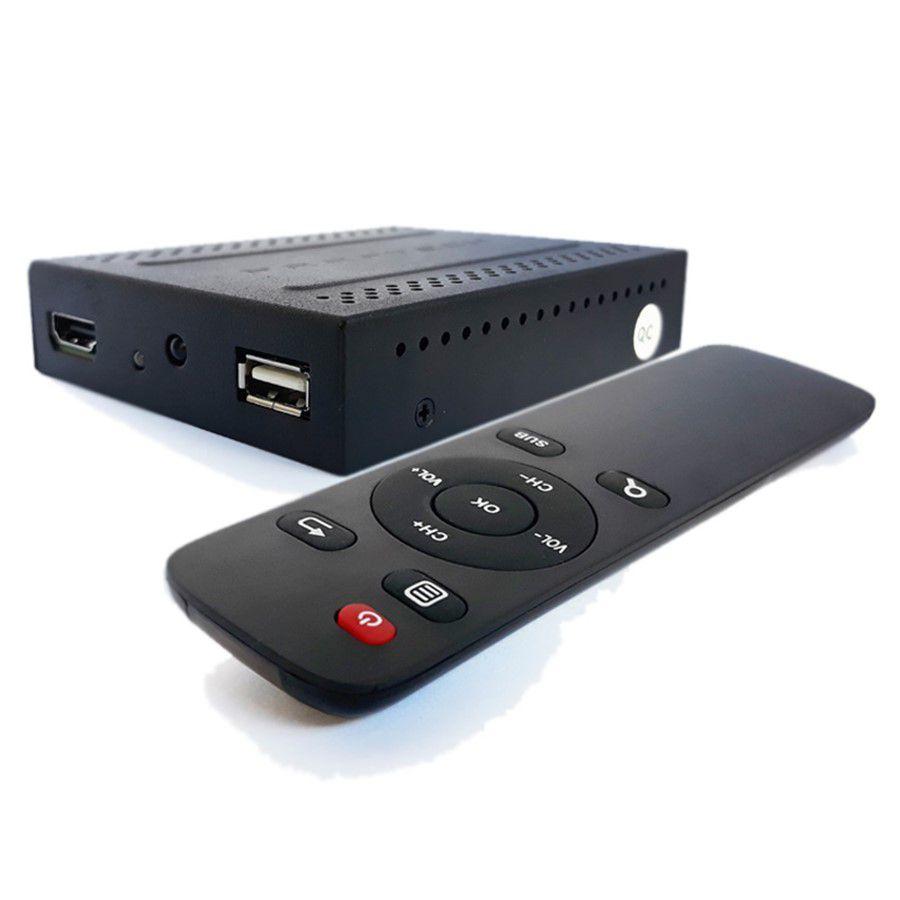 Receptor de TV Digital Full HD com Entrada USB Para Reprodução de Mídias Faaftech FT TV HD3