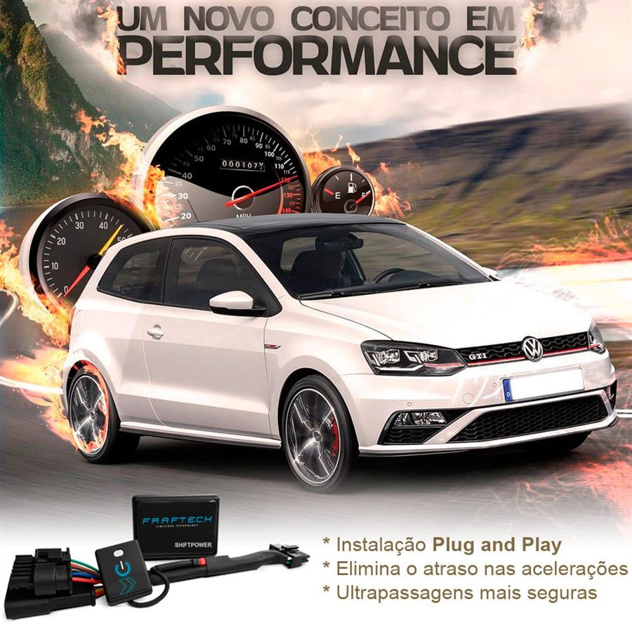 Shift Power Ford Edge 2011 a 2018 Reduz Atraso Do Acelerador Faaftech