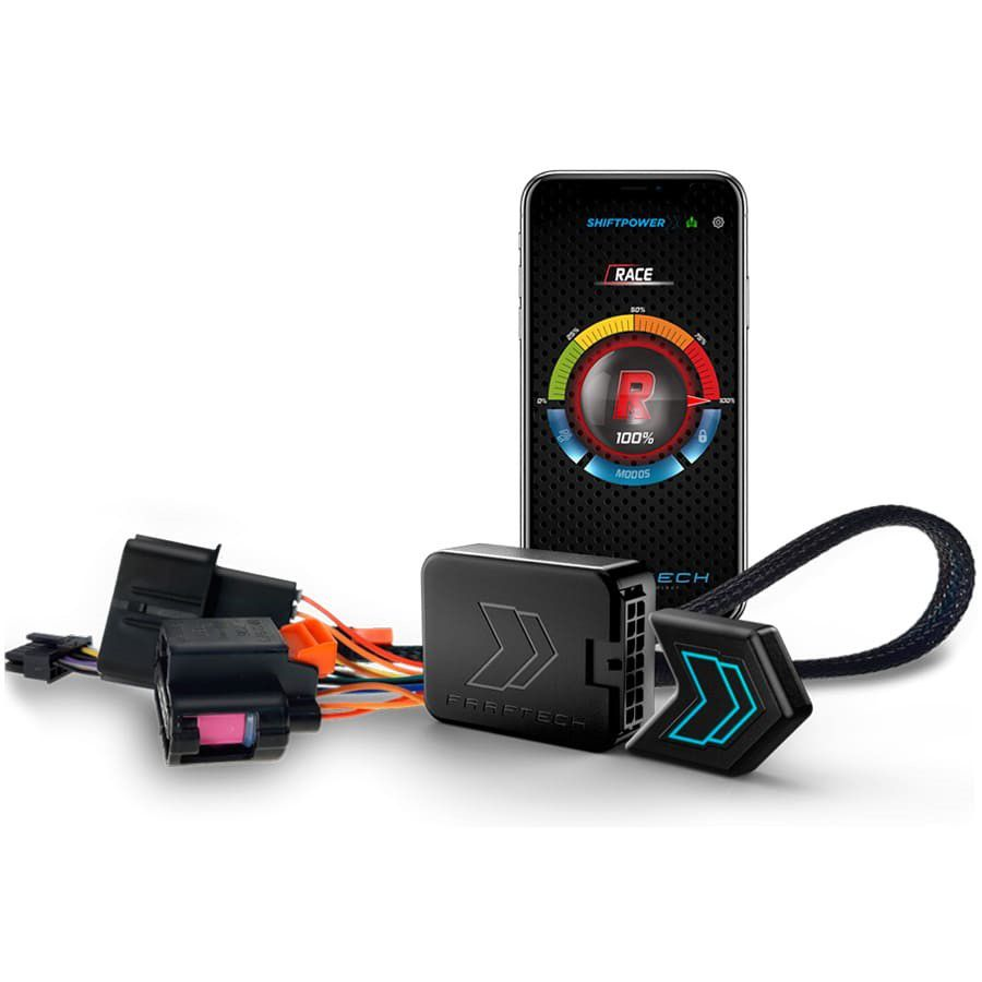 Shift Power Jeep Wrangler 2007 a 2018 Plug Play Bluetooth FT-SP04+