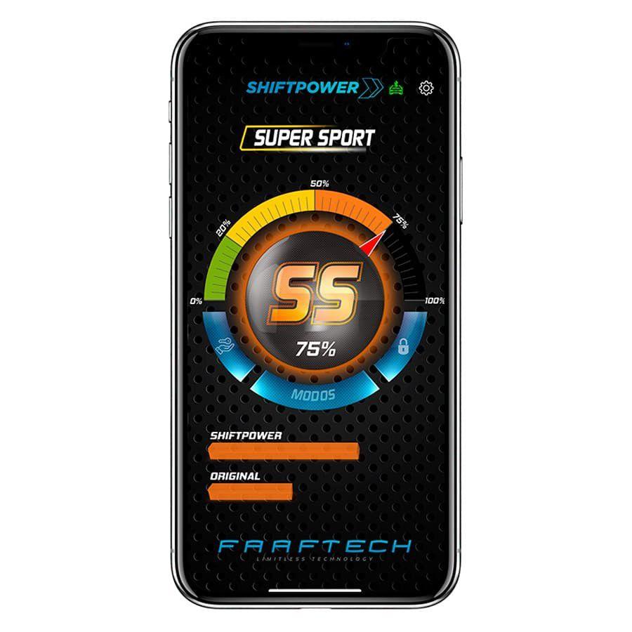 Shift Power Renault Sandero 2015 a 2019 Plug Play Bluetooth FT-SP21+