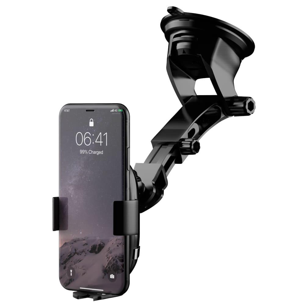 Suporte celular com Carregador Inteligente Sem Fio Wireless Faaftech FT-CHARGER