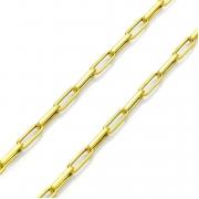 Corrente Cartier Alongada em Ouro 18k com 70cm