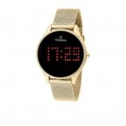 Relógio Champion Digital Dourado
