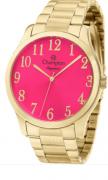 Relógio Champion Feminino Dourado - Elegance - CN26019