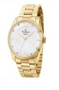 Relógio Champion Feminino Dourado - Elegance - CN27607H