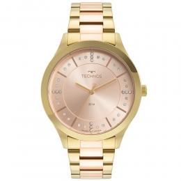 Relógio Technos Feminino Bicolor - Trend - 2036MNH/1T