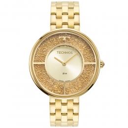 Relógio Technos Feminino Dourado - Crystal - 2025LTS/1X