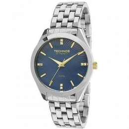 Relógio Technos Feminino Prata - Elegance - 2036LOW/K1A