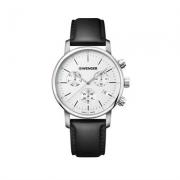 Relógio Wenger Masculino Preto - Urban Classic Chrono - 01.1743.118