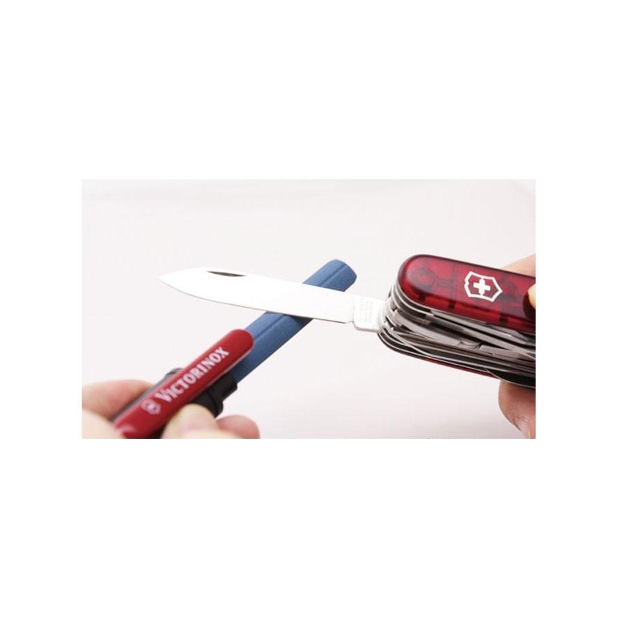 Afiador de facas duplo Victorinox - Preto - 4.3323