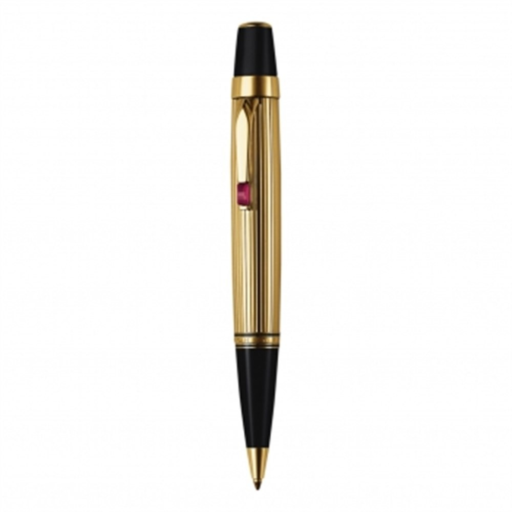 Caneta Montblanc  Bohème Gold Plated Rouge
