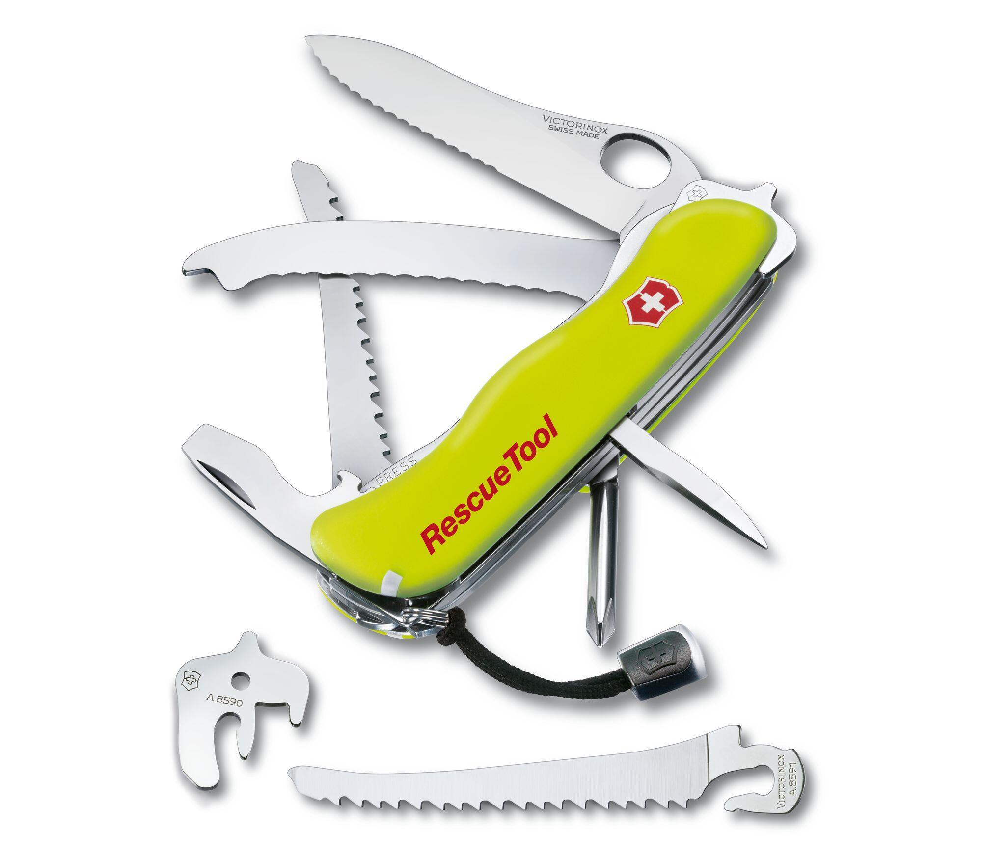 Canivete Suíço Victorinox Amarelo - RescueTool - 0.8623.MWN