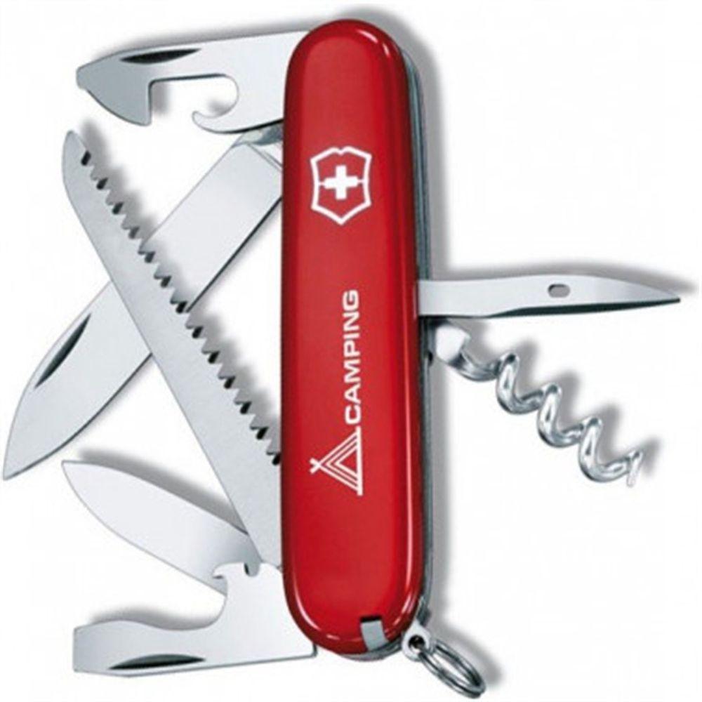 Canivete Suíço Victorinox Vermelho - Camper - 1.3613.71