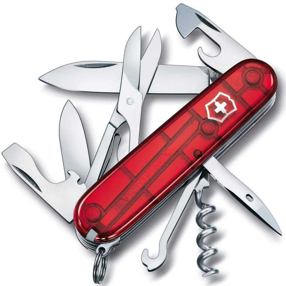 canivete Suíço Victorinox Vermelho - Climber - 1.3703,T
