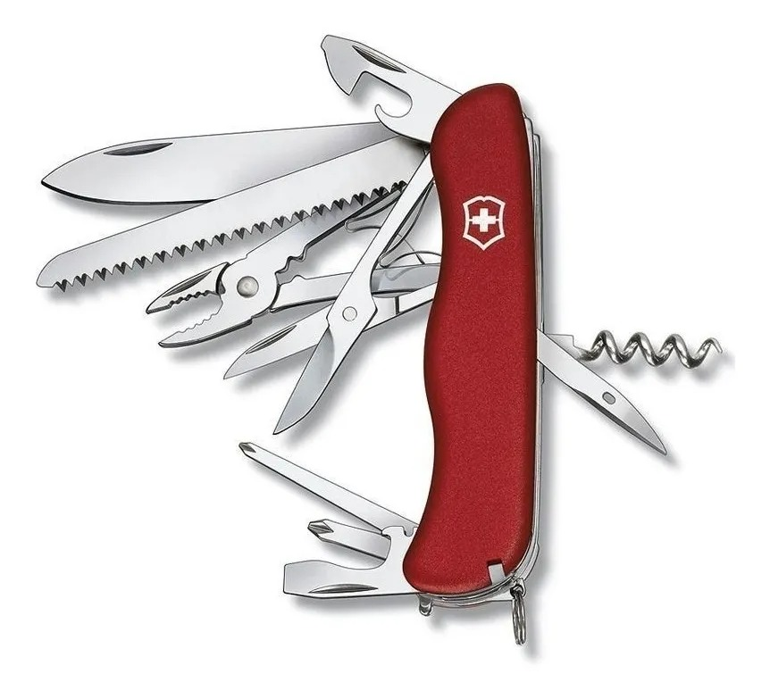 Canivete Suíço Victorinox Vermelho - Hercules - 0.8543
