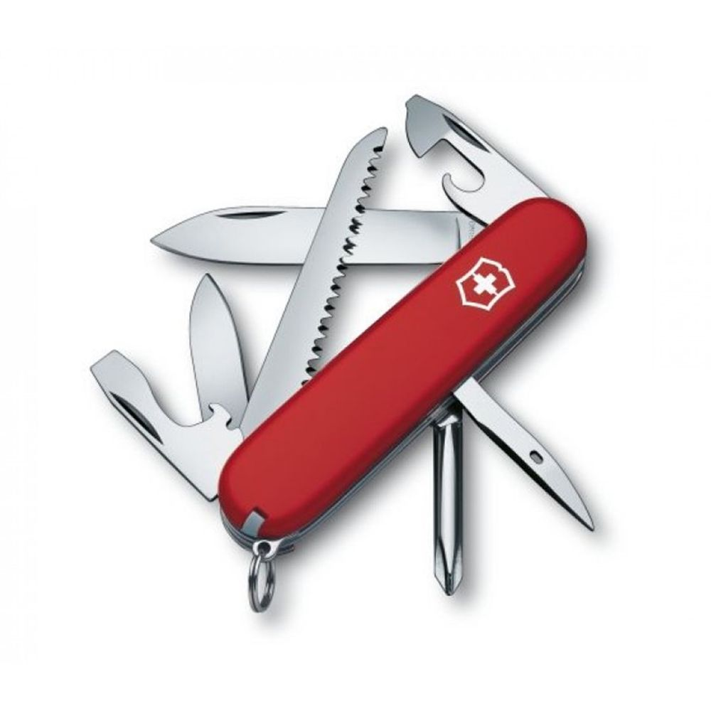 Canivete Suíço Victorinox Vermelho - Hiker- 1.4613