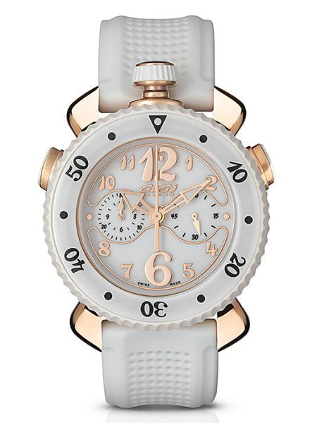 Gagá Milano Chrono Sport 45MM Gold Plated