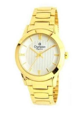 Relógio Champion Feminino Dourado - Criystal - CN27214H