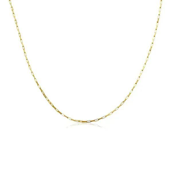 Corrente Cartier  com 70 cm em Ouro 18k