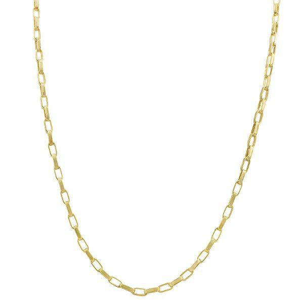 Corrente Cartier Oval Oca em Ouro 18k com 60cm