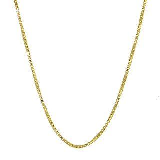 Corrente Veneziana com 40cm em Ouro 18k